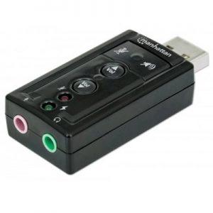 MANHATTAN MH SOUND ADAPTER , USB2 0.7.1 CHANNEL