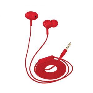 TRUST ZIVA IN-EAR HEADPHONES WITH MICROPHONE – RED