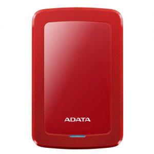 ADATA HV300 1TBUSB 3.1 COLOR BOX RED