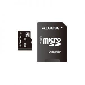 MEMORIA MICRO SD 8 GB CLASE 4