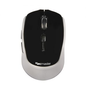 TECMASTER MOUSE 380 WIRELESS,BLACK/SILVER