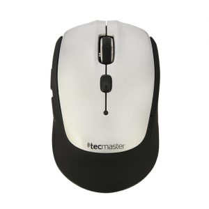 TECMASTER MOUSE 380 WIRELESS,SILVER/BLACK